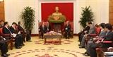 Thúc đẩy hợp tác giữa Quảng Tây với các địa phương của Việt Nam