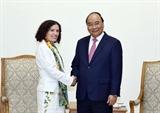 Premier vietnamita recibe a embajadores de Bulgaria y Uruguay