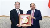 Thủ tướng Nguyễn Xuân Phúc tiếp Chủ tịch Phòng Thương mại Hong Kong - Việt Nam
