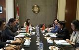 LEgypte veut développer des relations avec le Vietnam