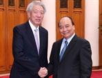 Укрепляются отношения стратегического партнерства между Вьетнамом и Сингапуром