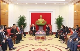 Во Ван Тхыонг принял вице-премьера Сингапура Бяо Чжи Сяня