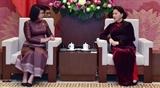 Делегация Национальной ассамблеи Камбоджи находится во Вьетнаме с официальным визитом