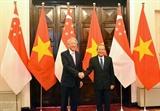 Вице-премьер Вьетнама провёл переговоры со своим сингапурским коллегой