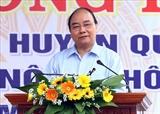 Премьер-министр Нгуен Суан Фук совершил рабочий визит в провинцию Куангнам