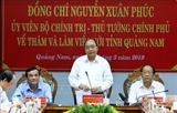 នាយករដ្ឋមន្ត្រីលើកឡើងនូវកម្លាំងចលករគ្របដណ្តប់សម្រាប់ជួយខេត្ត Quang Nam អភិវឌ្ឍន៍ប្រកបដោយនិរន្តរភាព