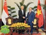 Вице-премьер Сингапура посетил город Хошимин