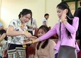 Tổ chức đón Tết Bunpimay cho lưu học sinh Lào tại Thái Nguyên