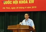Вице-премьер Выонг Динь Хюэ встретился с избирателями провинции Хатинь