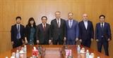 Đoàn đại biểu Đảng Cộng sản Liên bang Nga thăm làm việc tại Việt Nam