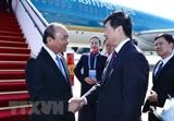 Premier vietnamita llega a Beijing para participar en foro sobre la Franja y la Ruta