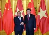 Thủ tướng Nguyễn Xuân Phúc hội kiến Tổng Bí thư Chủ tịch Trung Quốc Tập Cận Bình