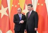 នាយករដ្ឋមន្រ្តីវៀតណាមលោក Nguyen Xuan Phuc អញ្ជើញជួបសវនាការ ជាមួយអគ្គលេខាបក្ស ប្រធានរដ្ឋចិនលោក Xi Jinping