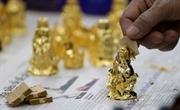 Производство сусального золота и позолоченных изделий в деревне Киеуки