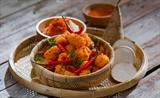 Banh cay a special Saigon snack