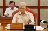 Tổng Bí thư Chủ tịch nước Nguyễn Phú Trọng chủ trì họp Bộ Chính trị