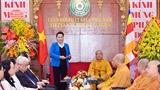 ガン国会議長、仏教協会を訪問