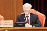 Открылся 10-й пленум Центрального комитета КПВ 12-го созыва