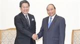 Премьер-министр Нгуен Суан Фук принял главу Японского банка международного сотрудничества