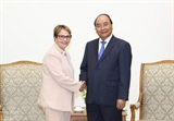 Thủ tướng Nguyễn Xuân Phúc tiếp Bộ trưởng Nông nghiệp Brazil
