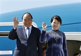 PM Nguyen Xuan Phuc sets off for official visits to Russia Norway Sweden