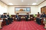 Chính phủ Lào đánh giá cao những đóng góp tích cực của cộng đồng người Việt Nam tại Lào