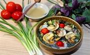Bun oc an authentic Hanoi dish