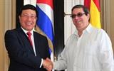 Вице-премьер министр иностранных дел Фам Бинь Минь начал официальный визит на Кубу