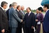 ロシアを訪問中のフック首相の活動