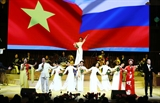 Năm hữu nghị Việt - Nga chính thức khai mạc tại thủ đô Moskva
