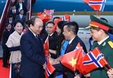 Inicia Premier de Vietnam visita oficial a Noruega