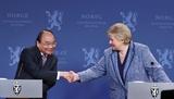Resserrement des relations damitié traditionnelles entre le Vietnam la Norvège et la Suède