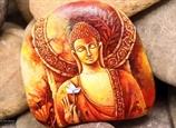 Vẽ tranh trên đá