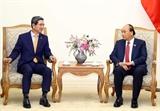 Thủ tướng Nguyễn Xuân Phúc tiếp Chủ tịch Nhóm Nghị sĩ hữu nghị Hàn Quốc – Việt Nam