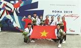 베트남 태권도 세계대회서 정상급 실력 과시