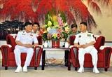 Visita China una delegación de alto nivel de la Armada de Vietnam