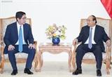 Премьер-министр Вьетнама принял президента крупного филиппинского холдинга