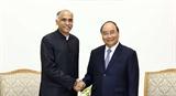 Thủ tướng Nguyễn Xuân Phúc tiếp Đại sứ Ấn Độ