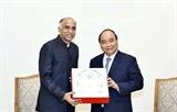 Recibe primer ministro vietnamita al embajador de la India