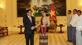 Вице-премьер Выонг Динь Хюэ находится в Мьянме с рабочим визитом