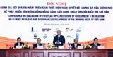 Premier vietnamita insta a adaptar al cambio climático en Delta del Mekong