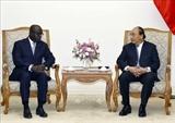Премьер-министр Вьетнама принял Министра иностранных дел Кот-дИвуара