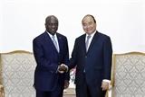 Le Premier ministre reçoit le ministre des Affaires étrangères de Côte dIvoire