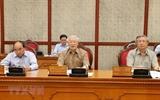 응웬푸쫑 당서기장 국가주석 정치국 회의 주재