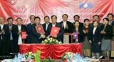 Укрепляется вьетнамско-лаосское сотрудничество в области планирования и инвестиций