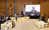 Thủ tướng Nguyễn Xuân Phúc chủ trì cuộc họp qua hệ thống e-Cabinet