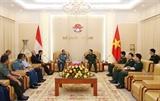 Đối thoại Chính sách Quốc phòng Việt Nam - Indonesia lần thứ nhất