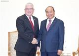 フック首相、オーストラリア大使と会見