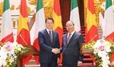 推动越南与意大利战略伙伴关系发展