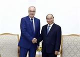 Thủ tướng Nguyễn Xuân Phúc tiếp Bộ trưởng Kinh tế Giáo dục và Nghiên cứu Thụy Sỹ